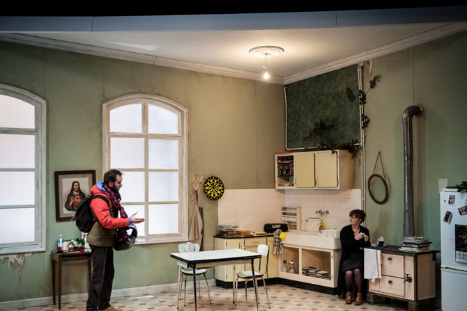 Le Chant du cygne et L'Ours - Critique sortie Théâtre Paris Studio-Théâtre de la Comédie-Française