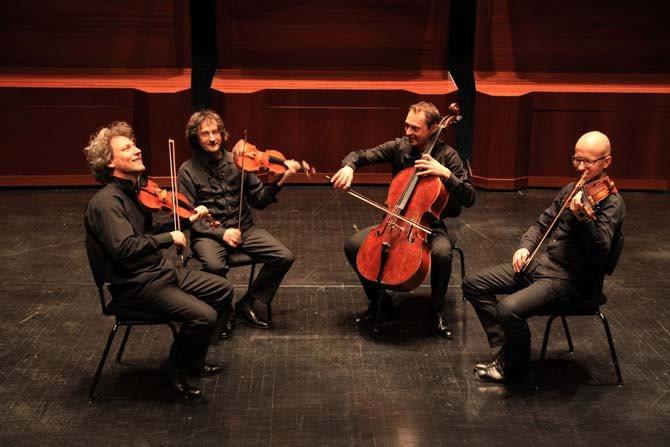 Quatuor Les Dissonances - Critique sortie Classique / Opéra Nogent-sur-Marne La Scène Watteau