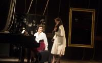 Elisabeth Bouchaud et Clara Schmidt dans A contre-voix.  Crédit photo : DR