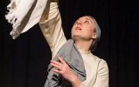 La Compagnie Le Théâtre de L'Arc en Ciel crée Dialogues des Carmélites, à L'Epée de Bois.  Crédit : Tekoaphotos