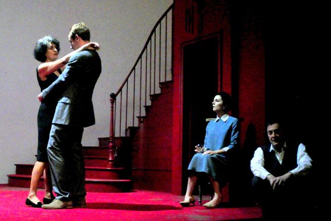 Qui a peur de Virginia Woolf ? - Critique sortie Théâtre Paris Théâtre de l'Oeuvre
