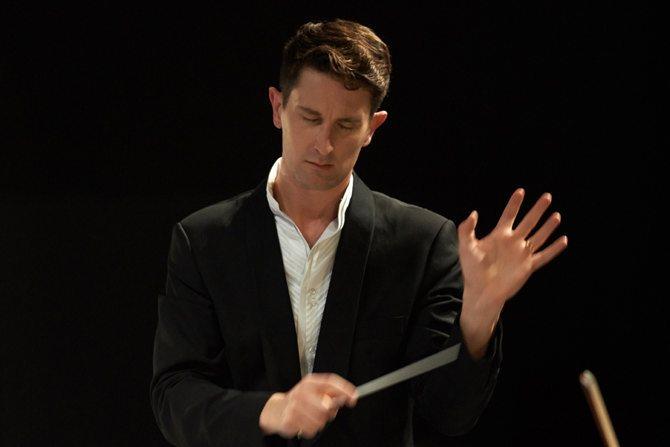 Clément Mao-Takacs dirige les musiques métisses d'Europe. © Ch. Filleule