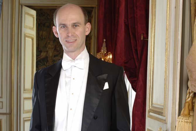 Le chef d'orchestre Jean-Philippe Sarcos, directeur musical du Palais Royal. © Vanessa Franklin
