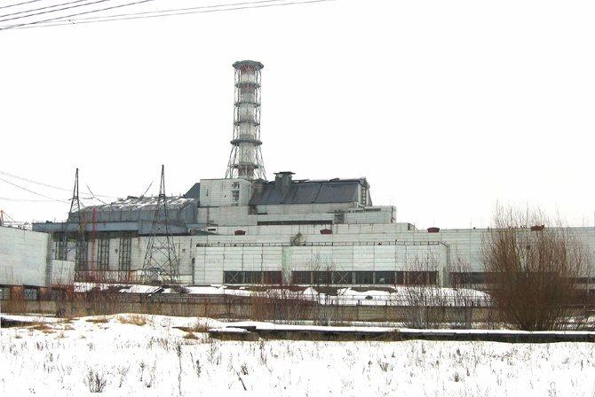 Crédit : Galia Ackerman / Légende : Le sarcophage de Tchernobyl (à mettre ds entretien Boussagol)