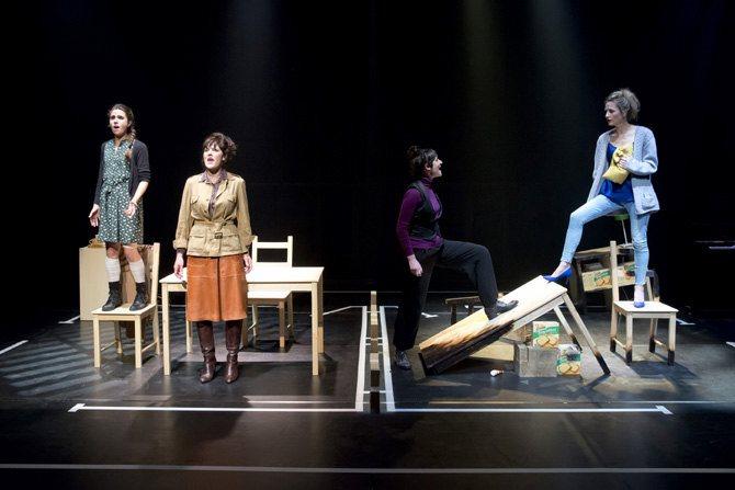 Sur les cendres en avant - Critique sortie Théâtre Paris Théâtre du Rond-Point
