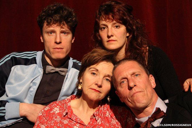 Une famille aimante mérite de faire un vrai repas - Critique sortie Théâtre Paris Le Monfort