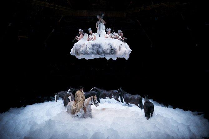 On achève bien les anges (élégies) - Critique sortie Théâtre Béziers SortieOuest