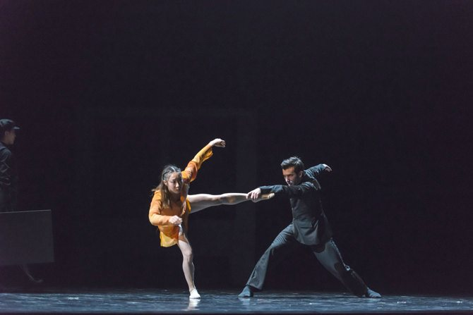 Crédit : Damian Siqueiros Les Grands Ballets Canadiens.