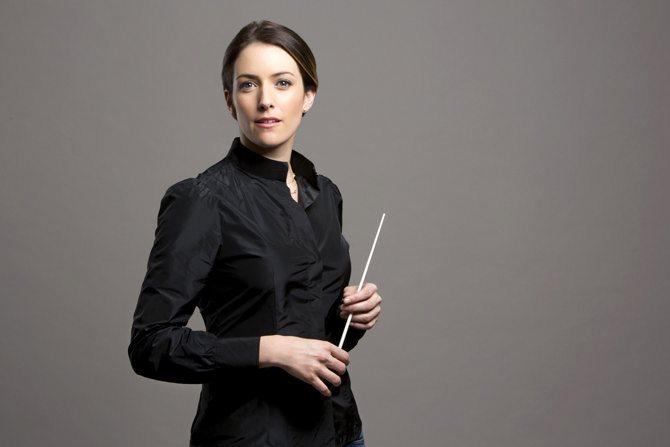 La chef d'orchestre Alondra de la Parra.  © Leonardo Manzo