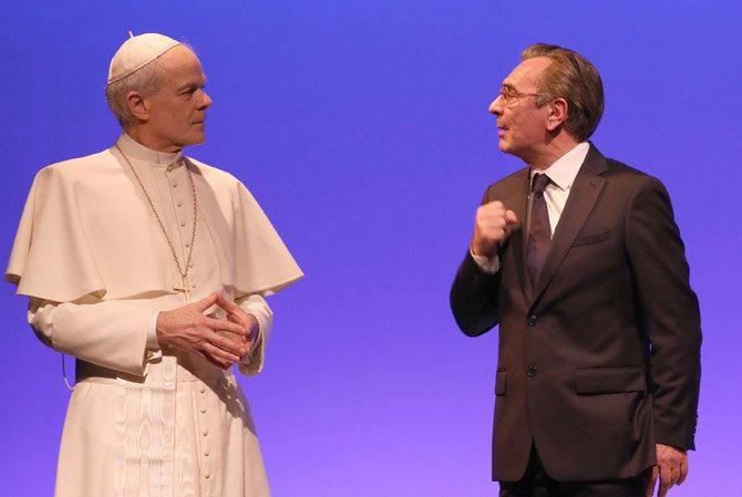 Jean-Paul II – Antoine Vitez, rencontre à Castel Gandolfo - Critique sortie Avignon / 2016 Avignon Avignon Off. Théâtre du Chêne Noir