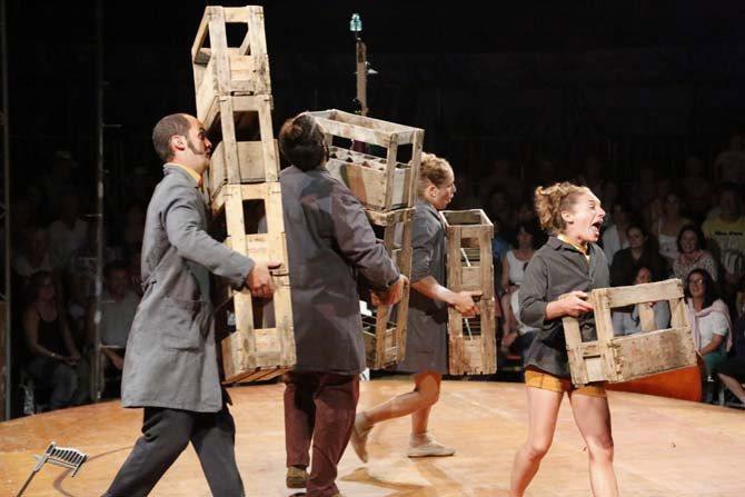 Le Cirque Poussière - Critique sortie Avignon / 2016 Villeneuve-lès-Avignon Verger
