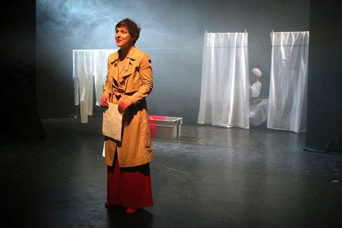 Gisèle, le combat c'est vivre ! - Critique sortie Avignon / 2016 Avignon Avignon Off. Théâtre Gilgamesh