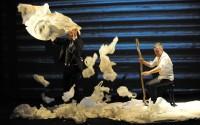 Crédit photo : Grégoire Zibell Légende : L'Attentat, mis en scène par Franck Berthier.