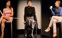 Crédit photo : DR Légende photo : Roxane Turmel dans Moulins à paroles, qui cisèle trois portraits de femmes.