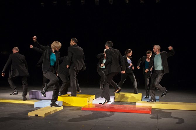 Parades & changes, replay in expansion - Critique sortie Danse Nîmes