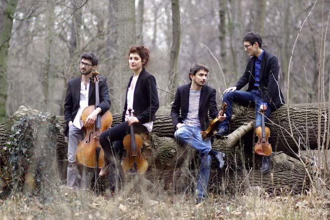 Le Quatuor Hanson, quatre nouveaux visages de la scène chambriste française.