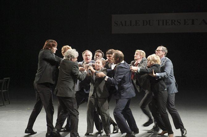 Ça ira fin(1) de Louis de Joël Pommerat - Critique sortie Théâtre Paris Théâtre de la Porte Saint-Martin