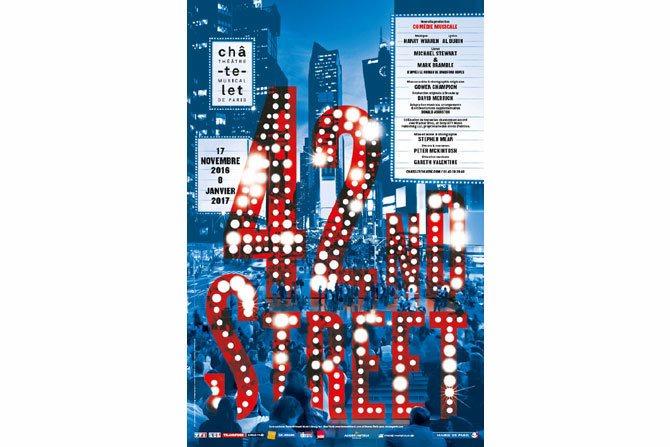 42nd Street - Critique sortie Classique / Opéra Paris Théâtre du Châtelet