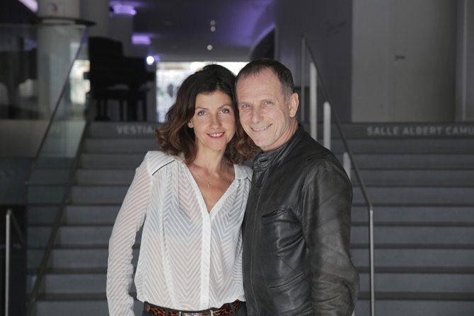 © Vincent Bérenger Charles Berling et Pascale Boeglin-Rodier, directeurs du Liberté.