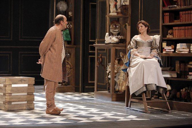 Les Femmes savantes - Critique sortie Théâtre Paris Théâtre de la Porte Saint-Martin