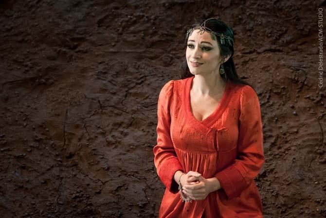 Sabine Devieilhe dans un de ses rôles fétiches. © Cédric Delestrade / ACM STUDIO