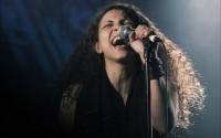 La chanteuse égyptienne Maryam Saleh. © Jean-Luc Caradec / F451 Productions