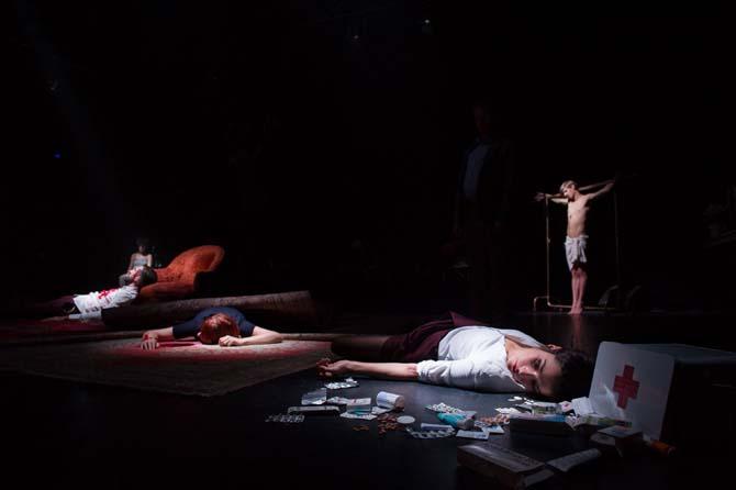 Timon/Titus - Critique sortie Théâtre Montigny-le-Bretonneux Théâtre de Saint-Quentin-en-Yvelines
