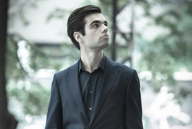 Le jeune pianiste, 21 ans, Jean-Paul Gasparian.