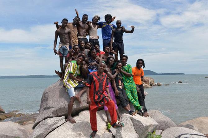 Béré, La fête à Conakry - Critique sortie Théâtre saint denis Académie Fratellini
