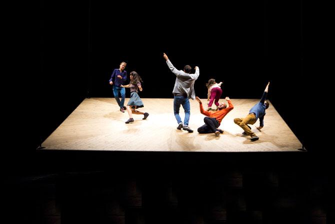 Celui qui tombe - Critique sortie Théâtre Montigny-le-Bretonneux Théâtre de Saint-Quentin-en-Yvelines