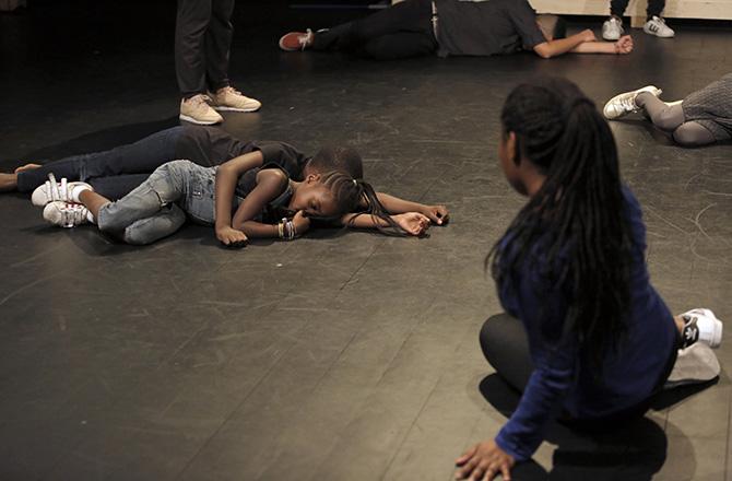 AU Coeur - Critique sortie Danse saint denis Théâtre Gérard Philipe