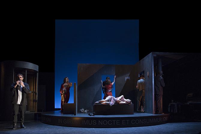 La Ronde - Critique sortie Théâtre Paris Théâtre du Vieux-Colombier