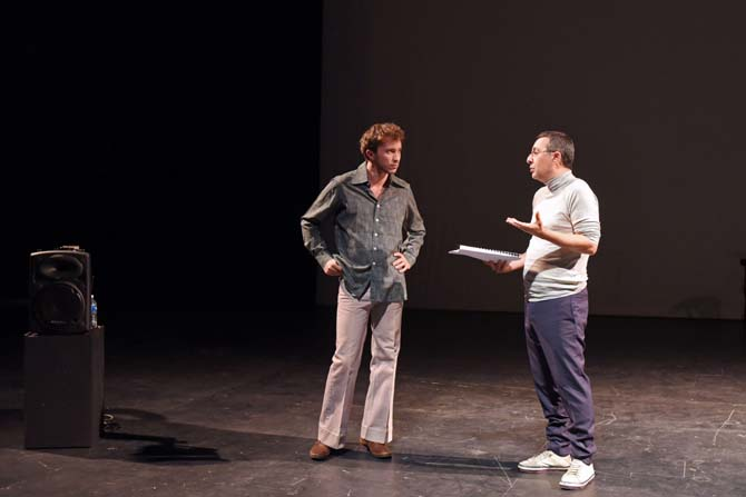 Letzlove – Portrait(s) Foucault - Critique sortie Théâtre Paris Le Monfort Théâtre