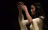Jade Phan-Gia dans Marco Polo et l'Hirondelle du Khan. Crédit photo : Sabine Trensz