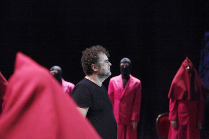 Pippo Delbono dans Vangelo Crédit : Luca Del Pia