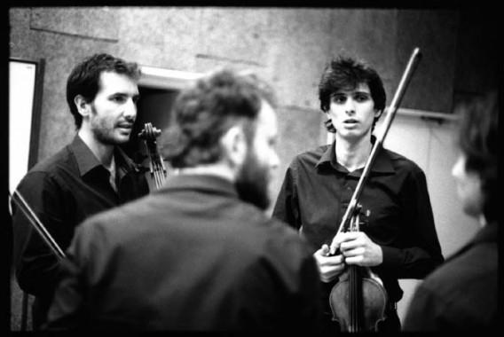 Légende : Le Quatuor Béla. © Jean-Louis Fernandez