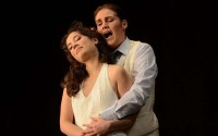 Judith van Wanroij et Francesca Aspromonte dans l'Orfeo de Rossi.  (crédit : Opéra national de Lorraine)
