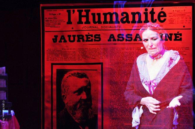 Jaurès, assassiné deux fois ! - Critique sortie Théâtre Paris Théâtre de la Contrescarpe