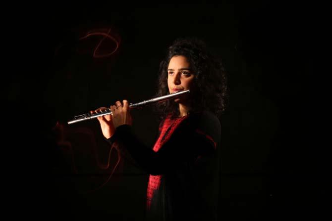 Naïssam Jalal & Rhythms of Resistance - Critique sortie Jazz / Musiques Paris Le Studio de l'Ermitage