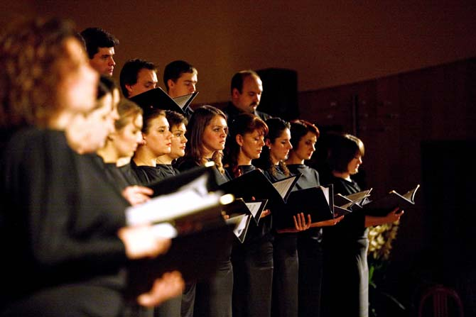 Le MusicAeterna Chorus  © Anton Zavyalov