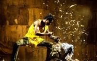 Crédit : Adeyinka Yusuf Légende : Les danseurs de Qudus Onikeku dans We Almost Forgot. Chor. Qudus Onikeku