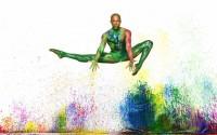 Crédit : Andrew Eccles Légende :Yannick Lebrun de l'Alvin Ailey American Dance Theater.
