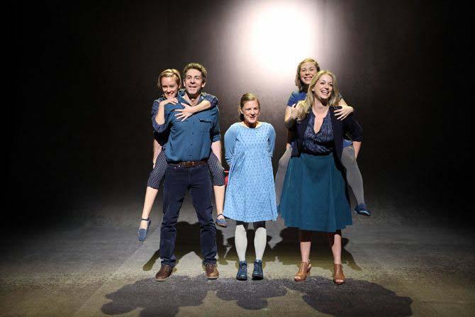 © François-Xavier Gaudreault  Trois petites sœurs de Suzanne Lebeau, dans la mise en scène de Gervais Gaudreault. Une première en France et une exclusivité du Festival.