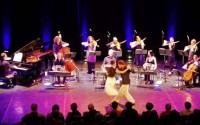 Le Grand Orchestre Tango du conservatoire de Gennevilliers. © D. R.