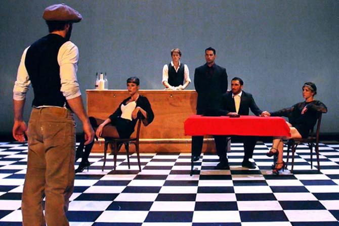 © D. R. Légende : Speakeasy : le cirque dans un clandé !
