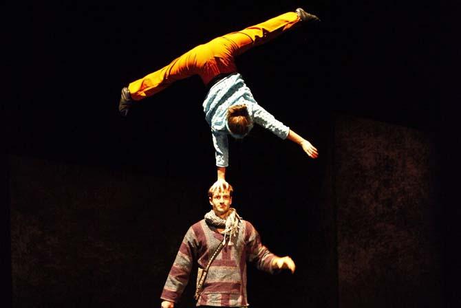 Travelling circus - Critique sortie Théâtre Rungis THEATRE DE RUNGIS