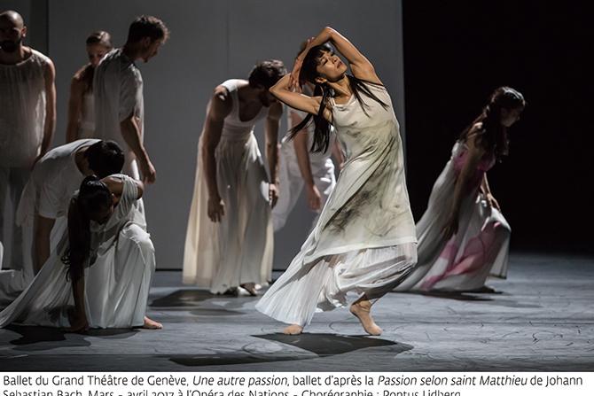 Une autre passion de Pontus Lidberg par le Ballet du Grand Théâtre de Genève. Crédit: GTG / Gregory Batardon
