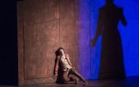 Stanislas Nordey dans Baal, mis en scène par Christine Letailleur. Crédit: Brigitte Enguérand
