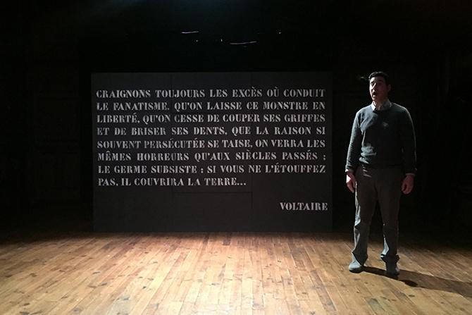JE SUIS VOLTAIRE… - Critique sortie Théâtre Vincennes Théâtre de l'Epée de Bois
