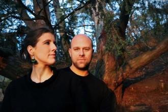 La soprano Ariane Wohlhuter et le guitariste Philippe Mouratoglou. © Maxim Francois